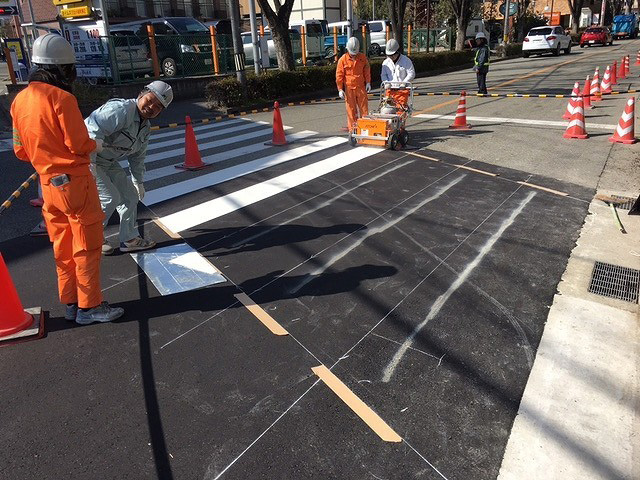 道路舗装復旧工事